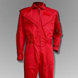 combinaison de vol pilote avion voltige h licopt re couleur rouge. Black Bedroom Furniture Sets. Home Design Ideas