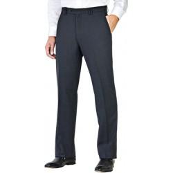 Pantalon Bleu Marine 50% laine anti-tache