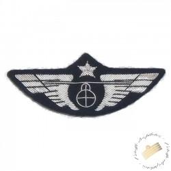 Aile de poitrine hélicoptère Argent - Pour pilotes et copilotes d'hélicoptère