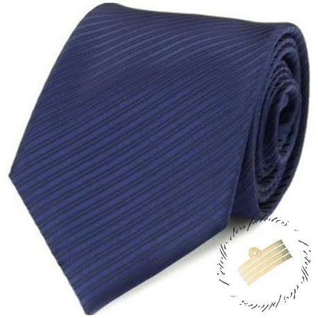 Cravate - Bleu marine - Unie