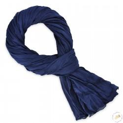Cheiche Bleu Marine en coton