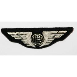 Insigne aile de poitrine avion PNT et PNC Argent