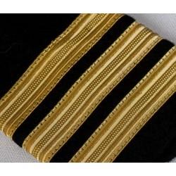 Galon Or à coudre 7 mm - Ruban vendu au mètre
