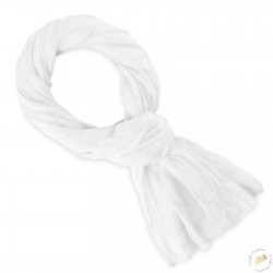 Cheiche blanc en coton