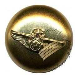 Pose de boutons Aile Avion dorés sur veste Etoffe des Pilotes